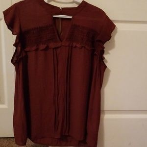 Tops - Maurices cap sleeve blouse